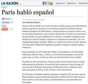 Article La Razón