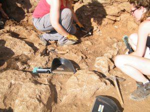 Excavacions Talaiot S'Illot 27-06-2104 054