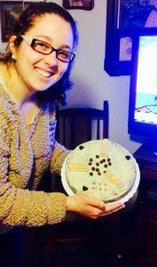tarta de bona sort per la seleccividat dedicada Marisun