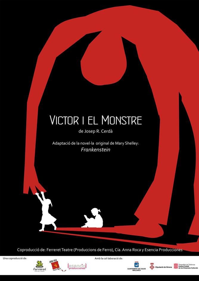 Cartell Victor i el Monstre