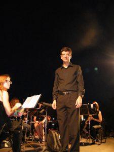 Damià Muñoz director banda de música Sant Llorenç des Cardassar
