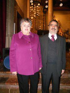 Presidenta Federació Josefina Colom i Joaquín Alcolea 11-01-2015 001