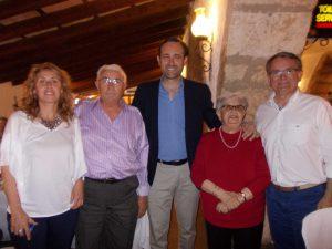 Margalida Barceló i Pedro Auba 3a edat sa Coma i autoritats