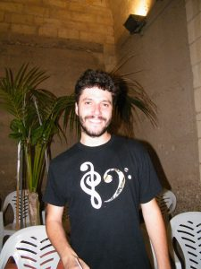 el director Joan Antoni Ballester foto feta el 22è festival bandes Son Servera 19-07-2014 094