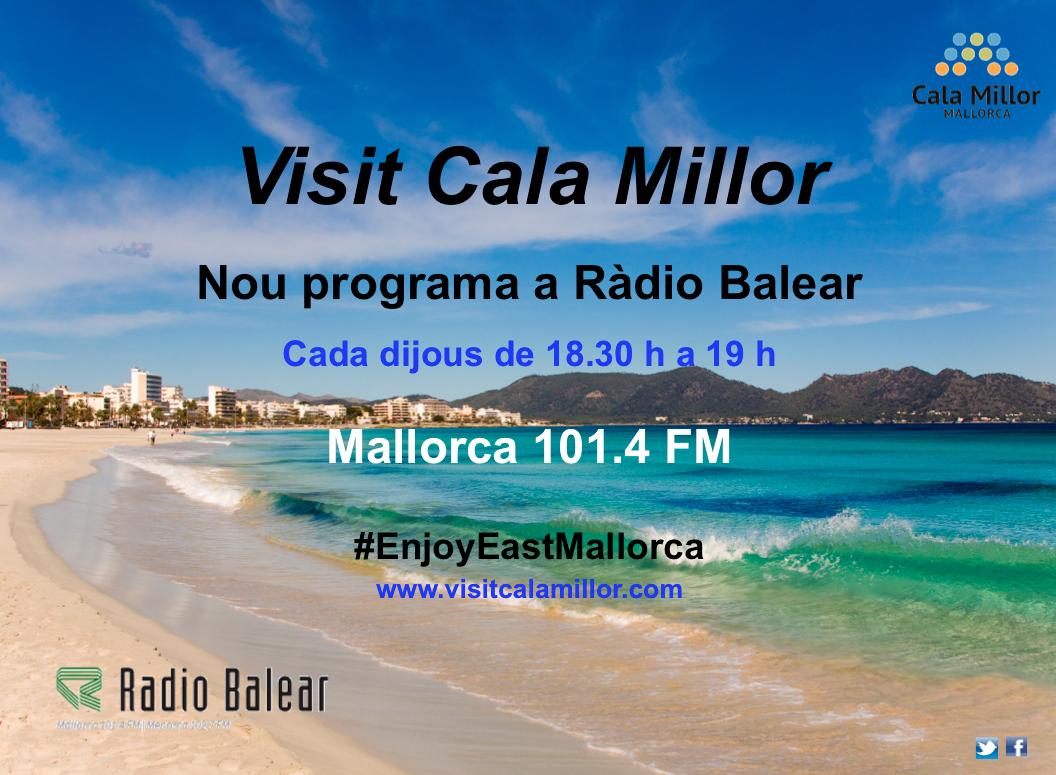 Visit Cala Millor, el nou programa de Ràdio Balear.