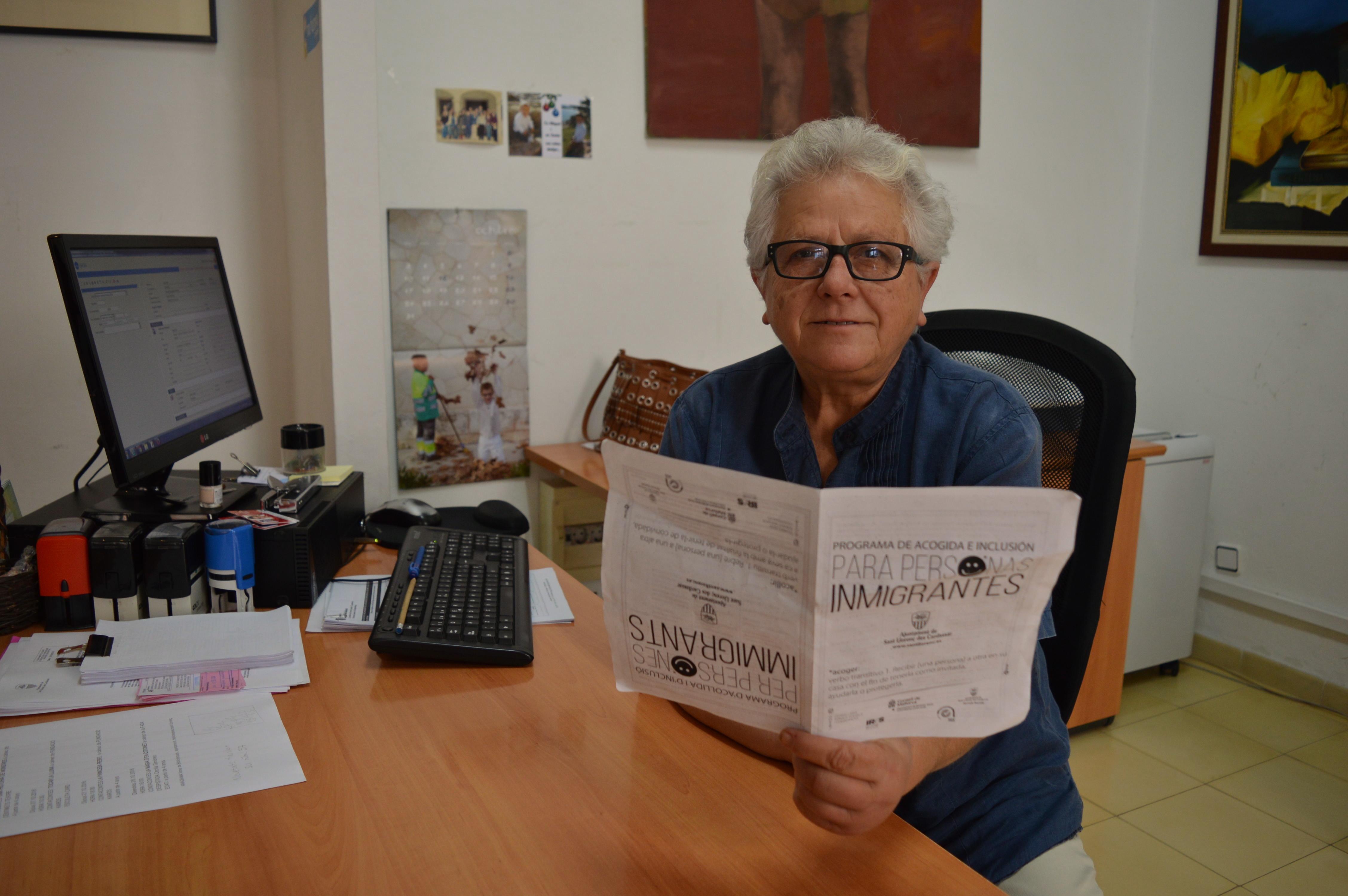 Maria Galmés, regidora de Benestar Social de l'Ajuntament de Sant Llorenç des Cardassar.