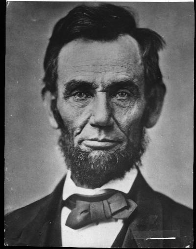 Biography mirros Abe Lincoln's singularity of purpose